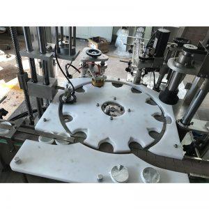 Автоматическая машина для горячего розлива, укупорки и укупорки