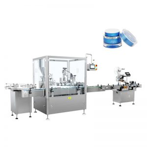 Автоматическая машина для розлива и укупорки лосьона
