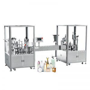 Автоматическая машина для наполнения и укупорки духов