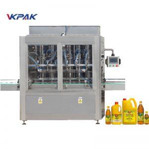Автоматическая машина для розлива жидкости поршневого типа