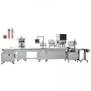 Автоматическая машина для розлива и укупорки водной эмульсии