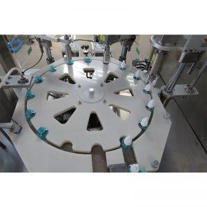 Машина для наполнения, закупоривания и укупорки жидких репеллентов от комаров
